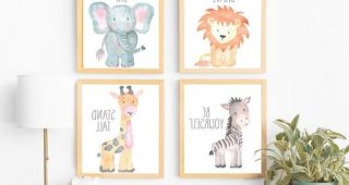 Etsy Childrens Wall Art