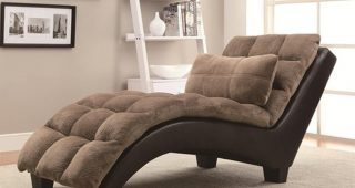 Fabric Chaise Lounges