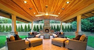 Outdoor Porch Ceiling Fans With Lights