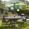 Patio Table And Chairs With Umbrellas (Photo 7 of 15)