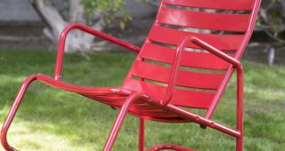 Outdoor Patio Metal Rocking Chairs