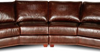 4 Seat Leather Sofas