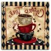 Cafe Latte Kitchen Wall Art (Photo 15 of 15)