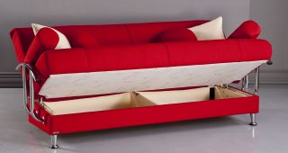 Red Sleeper Sofas