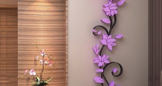 Flowers 3D Wall Art
