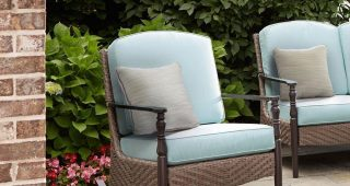 Hampton Bay Rocking Patio Chairs