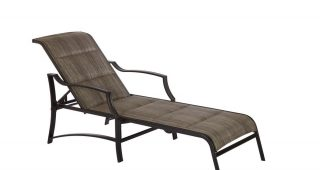 Cast Aluminum Chaise Lounges With Wheels