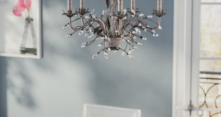 Hesse 5 Light Candle-Style Chandeliers