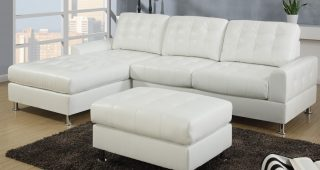 White Sectional Sofas With Chaise