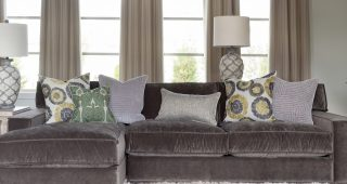 Velvet Sectional Sofas With Chaise