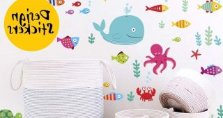 Fish Decals For Bathroom