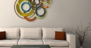 Kindred Abstract Metal Wall Art