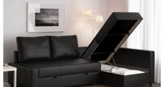 Leather Chaise Lounge Sofa Beds