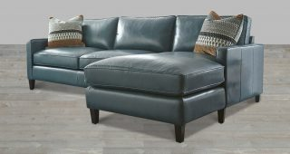 Leather Sectional Chaises