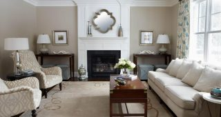 Transitional Living Room Table Lamps