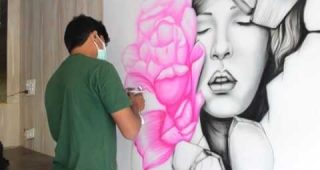 Airbrush Wall Art