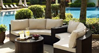 Outdoor Patio Furniture Conversation Sets