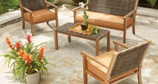 Patio Conversation Sets Without Cushions