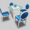 Blue Glass Dining Tables (Photo 10 of 25)