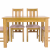 Oak Dining Tables And 4 Chairs (Photo 22 of 25)