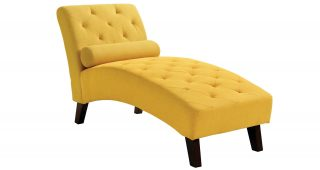 Yellow Chaise Lounges