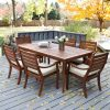 Outdoor Dining Table And Chairs Sets (Photo 4 of 25)