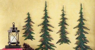 Pine Tree Wall Art
