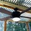 Outdoor Ceiling Fan Under Deck (Photo 2 of 15)
