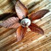 Outdoor Ceiling Fans With Leaf Blades (Photo 15 of 15)