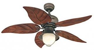 Outdoor Ceiling Fans With Leaf Blades
