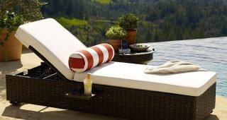 Outdoor Pool Furniture Chaise Lounges