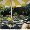 Yellow Sunbrella Patio Umbrellas (Photo 3 of 15)