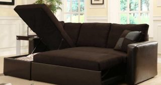 Adjustable Sectional Sofas With Queen Bed