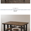 Dining Tables With Attached Stools (Photo 2 of 25)