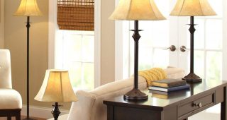 Houzz Living Room Table Lamps