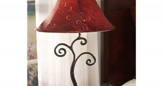 Wrought Iron Living Room Table Lamps