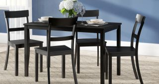 Miskell 5 Piece Dining Sets