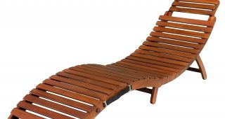 Wooden Chaise Lounges