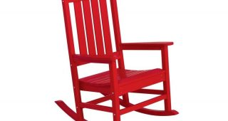 Red Patio Rocking Chairs