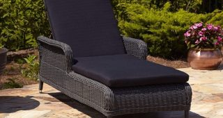 Resin Wicker Chaise Lounges