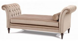 Cream Chaise Lounges