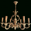 French Bronze Chandelier (Photo 2 of 15)