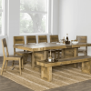 Rustic Brown Lorraine Extending Dining Tables (Photo 10 of 25)