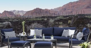 Blue Patio Conversation Sets
