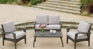 4 Piece Patio Conversation Sets
