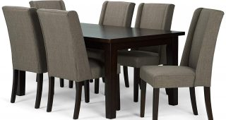 Contemporary 6-Seating Rectangular Dining Tables