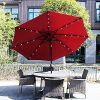 Solar Powered Led Patio Umbrellas (Photo 22 of 25)