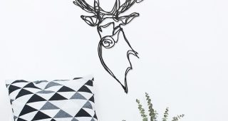 Stags Head Wall Art