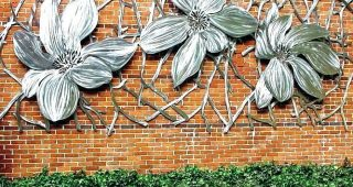 Stainless Steel Outdoor Wall Art