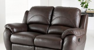 2 Seater Recliner Leather Sofas